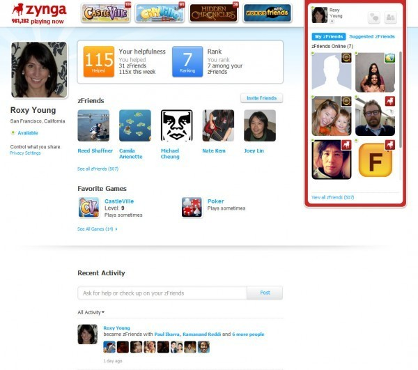 zynga platform 