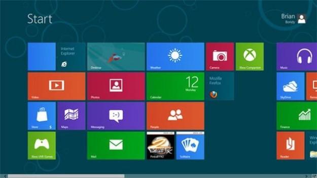 Le foto di Firefox Metro su Windows 8
