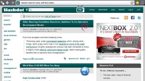 Firefox Metro: Windows 8