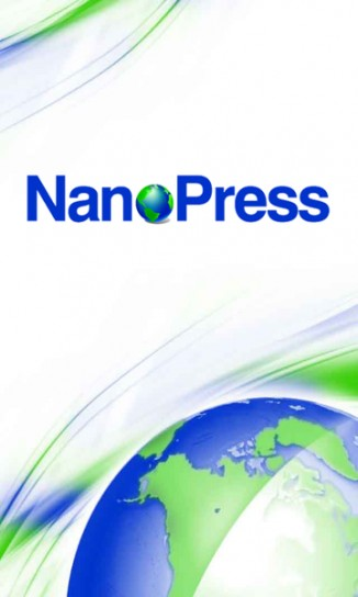 Nanopress per Android: splashscreen