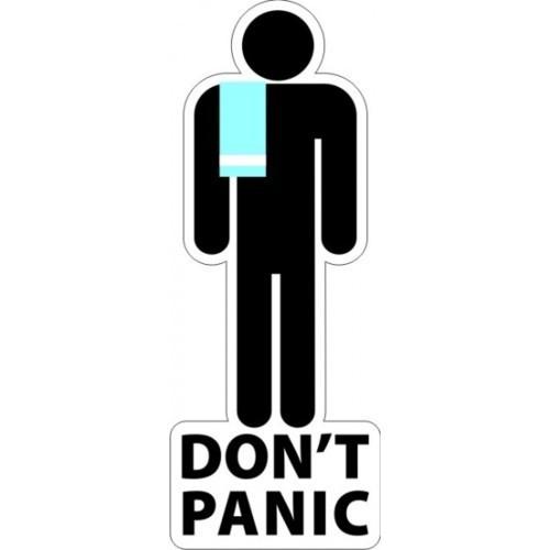 Towel Day, l'omino e il panico