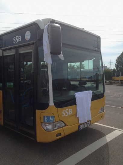Il Towel Day sugli autobus