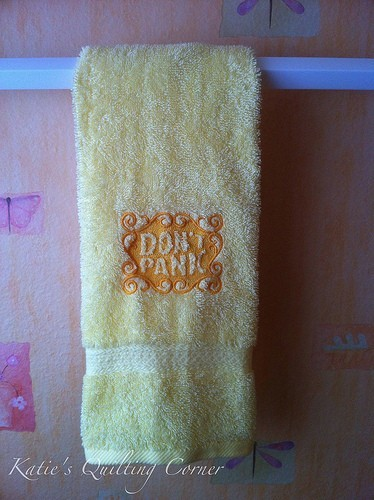 Towel Day: don't panic