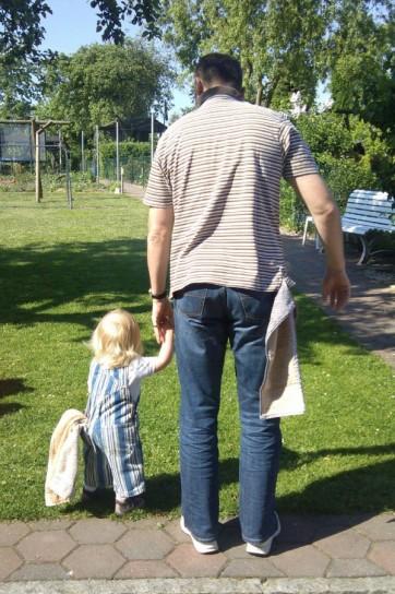 Towel Day: padre e figlia