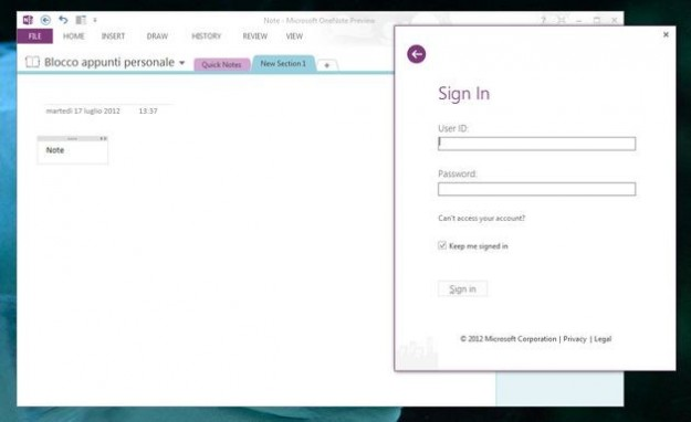 Office 2013: onenote