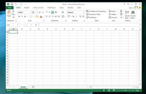 Office 2013: excel