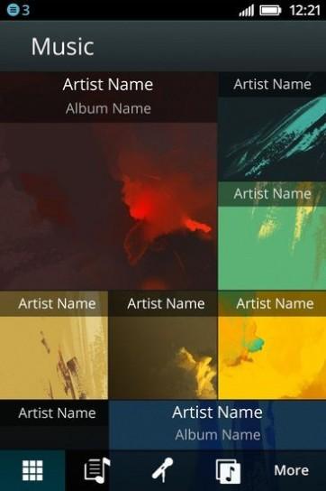 Firefox OS: musica