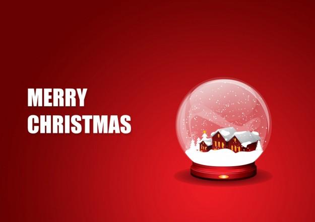 Merry Christmas con neve