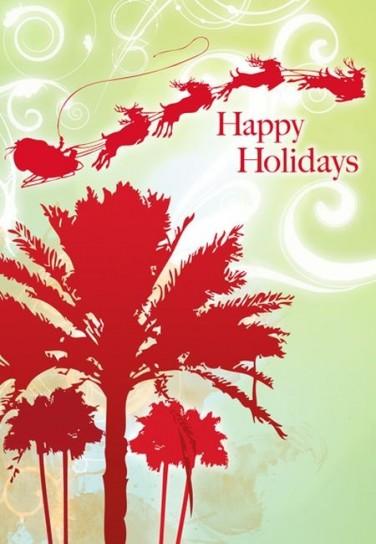 Happy Holidays con Babbo Natale