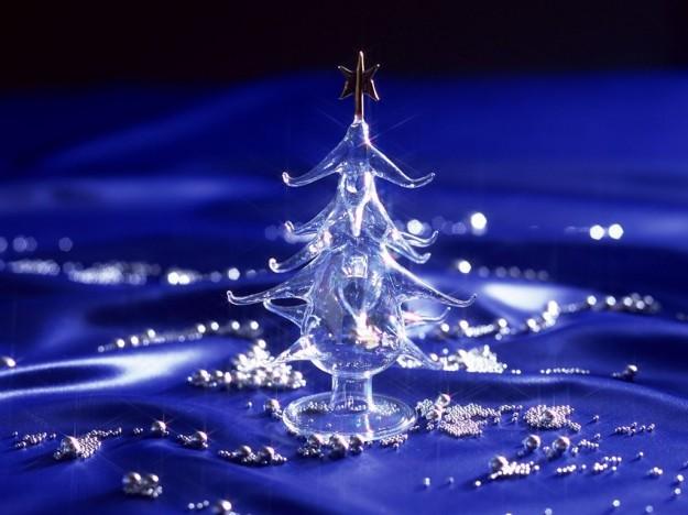 Albero di Natale blu