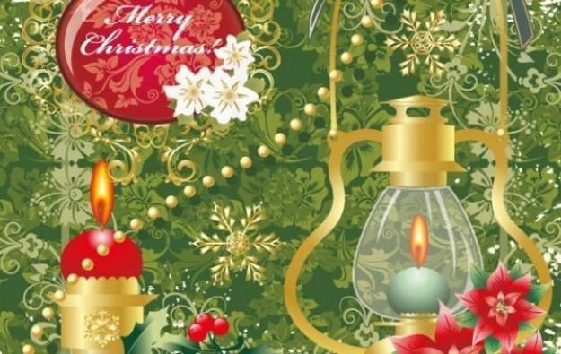 Decorazioni natalizie colorate
