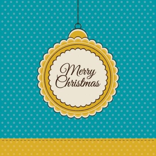 Cartolina di Natale retro