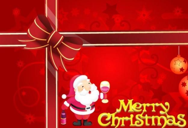 Cartolina Merry Christmas