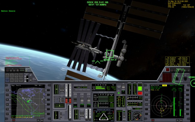Orbiter Space Flight Simulator