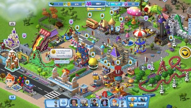 Coasterville: gioco di simulazione