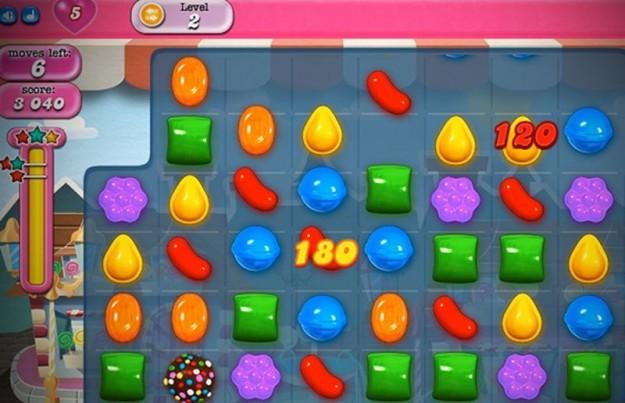Schema di gioco di Candy Crush Saga