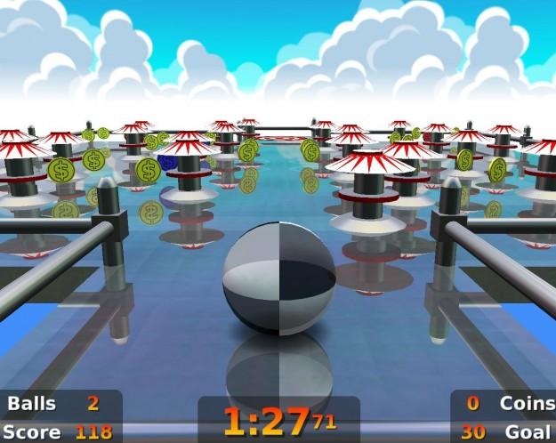 Schema di gioco di Neverball