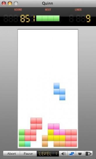 Quinn Tetris per Mac