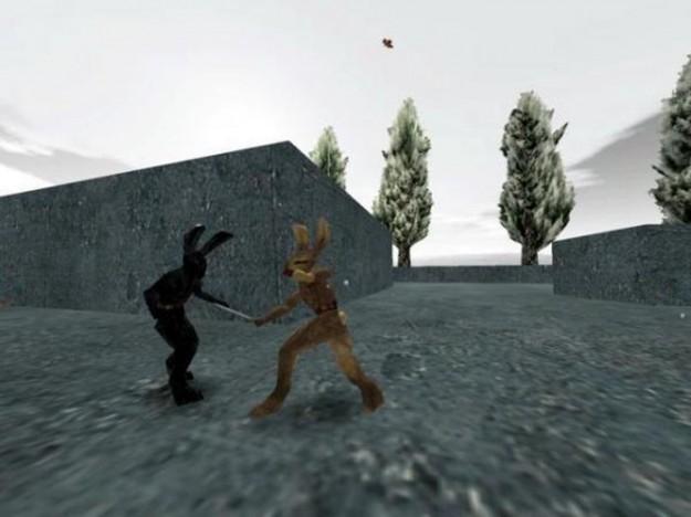 Un combattimento in Lugaru