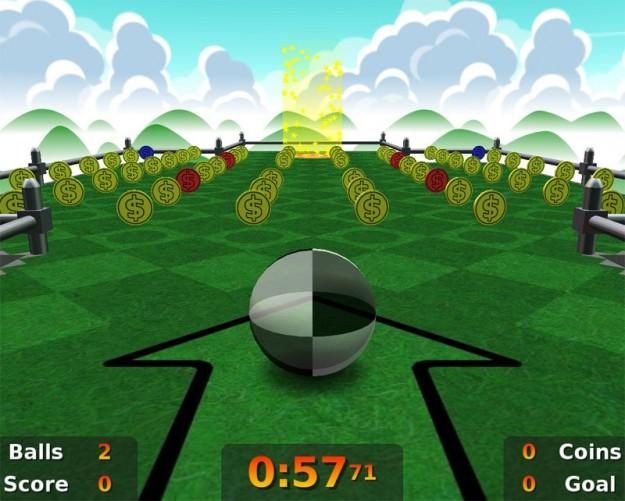 Neverball: gioco d'azione
