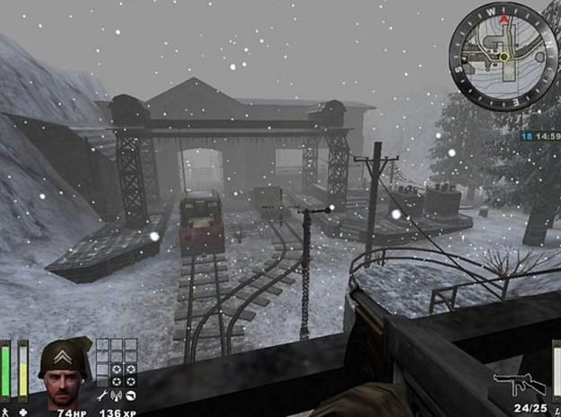 Ambientazione con la neve in Wolfenstein Enemy Territory