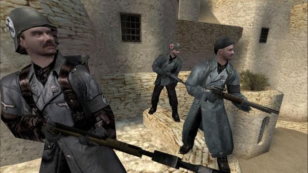 Azione di gioco in Wolfenstein Enemy Territory