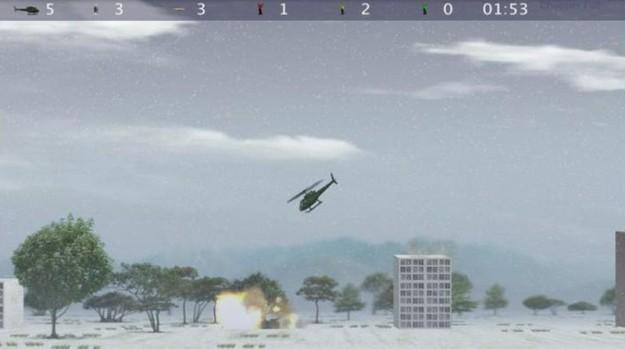 Azione di gioco in Chopper