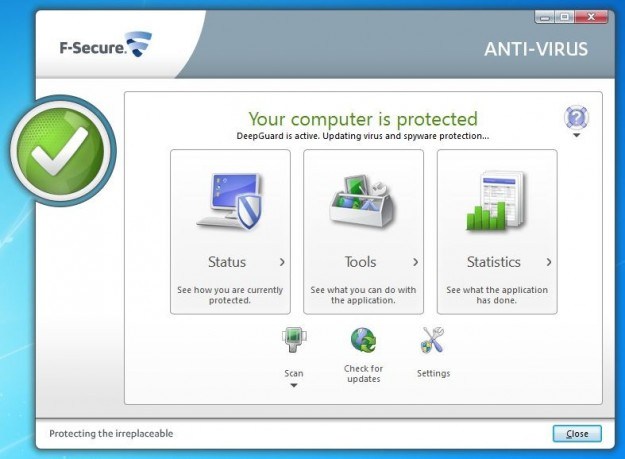 F-Secure Antivirus: protezione
