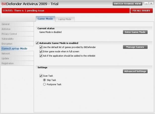BitDefender Antivirus trial
