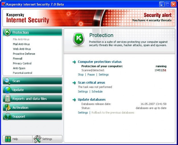 Kaspersky security alert