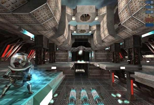 Azione di gioco in Alien Arena 2008