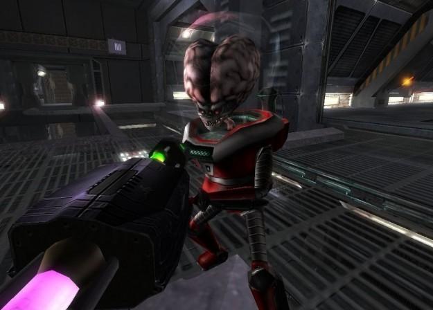 Ambientazione misteriosa in Alien Arena 2008
