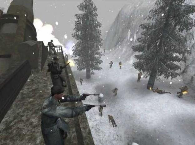 Un'ambientazione di Wolfenstein Enemy Territory