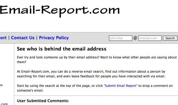 Email report di AnonInbox