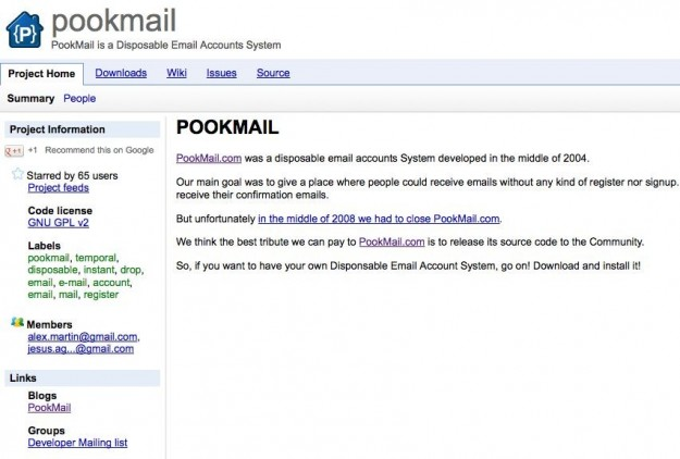 PookMail opensource