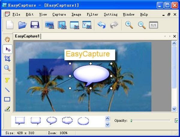 Screenshot con EasyCapture