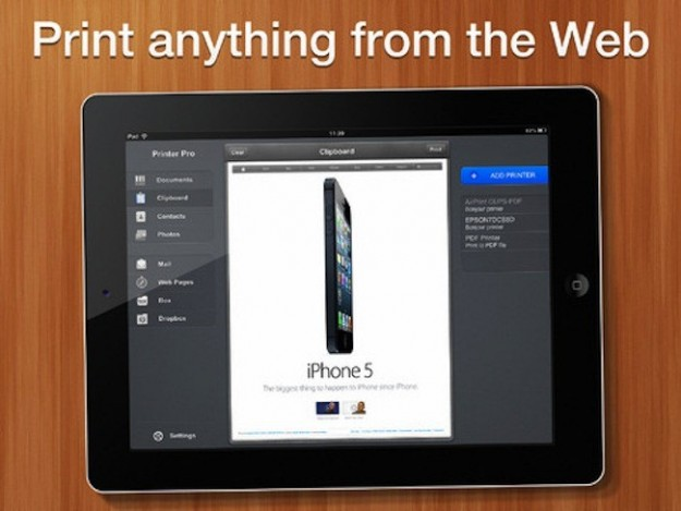 Stampa dal web con Pinter Pro