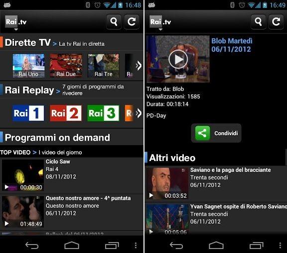 Migliori app Android per guardare la tv