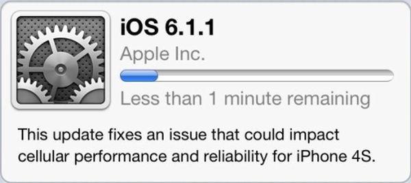 Update di iOS