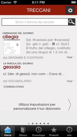 Vocabolario Treccani 2013