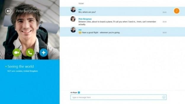 Skype per Windows 8: aggiornamento con i video messaggi [FOTO]