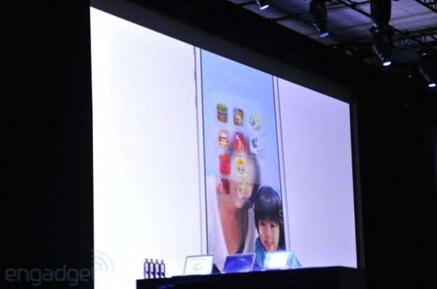 Schermata di iOS