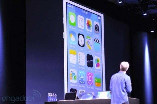 Schermata con icone