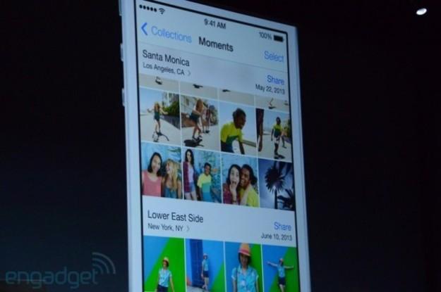 Immagini in iOS 7