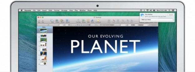 Notifiche di OS X Mavericks