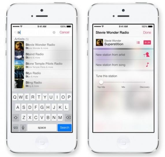 iTunes Radio di Apple