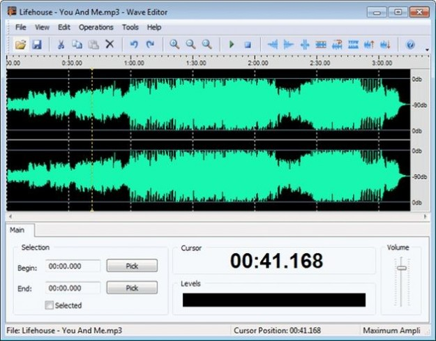 Come spezzare un file audio