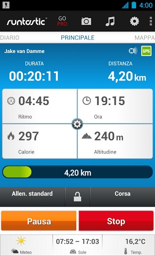 Migliori app Android per correre