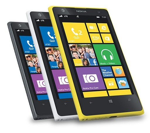 Nokia Lumia 1020 in diverse versioni