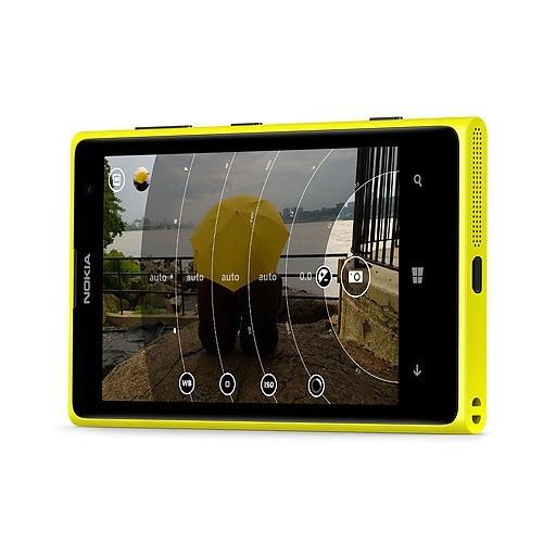 Dettaglio del Nokia Lumia 1020